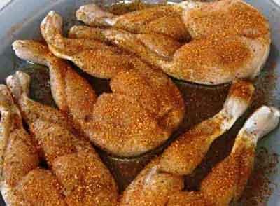 Приготовление куриных лапок для ресторанных блюд