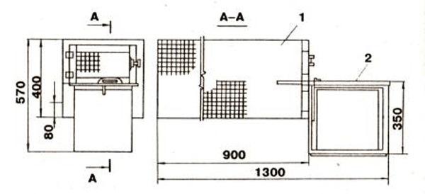 Схема звериной клетки