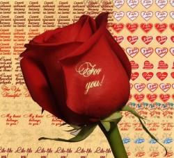 Необычный бизнес: шелкографические наклейки на цветы