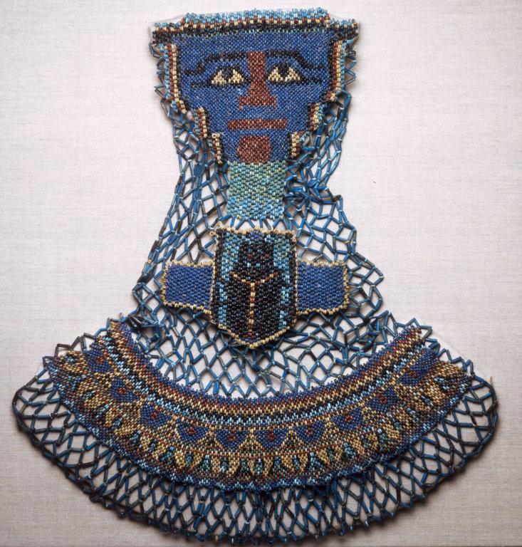 Египетское украшение из бисера