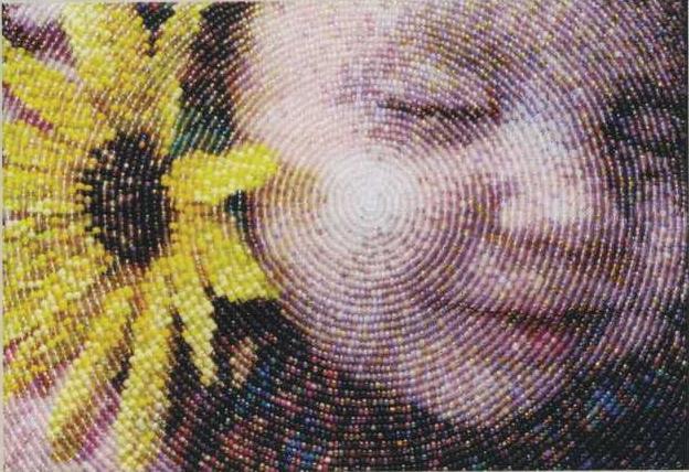 Вышивка картины бисером