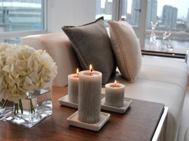Свечи в оформлении интерьера