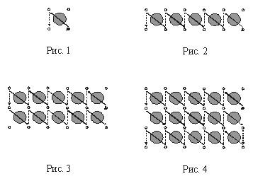 Схема вышивки «монастырским» швом