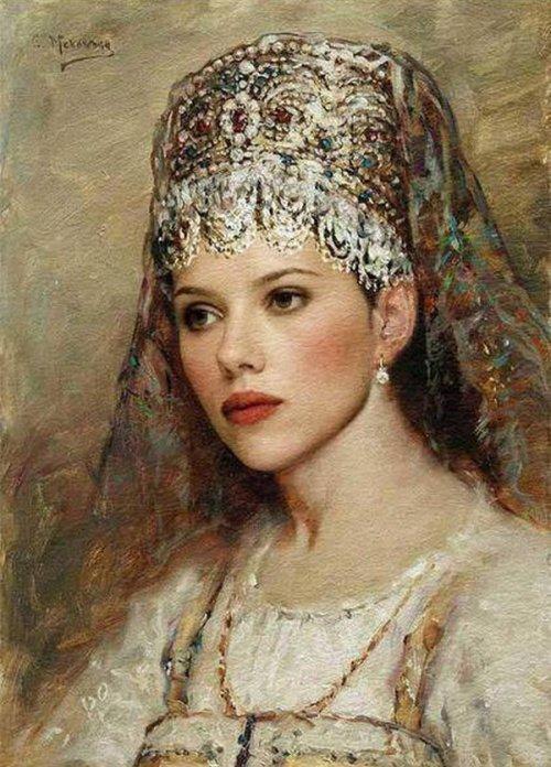 Использование бисера на древней Руси